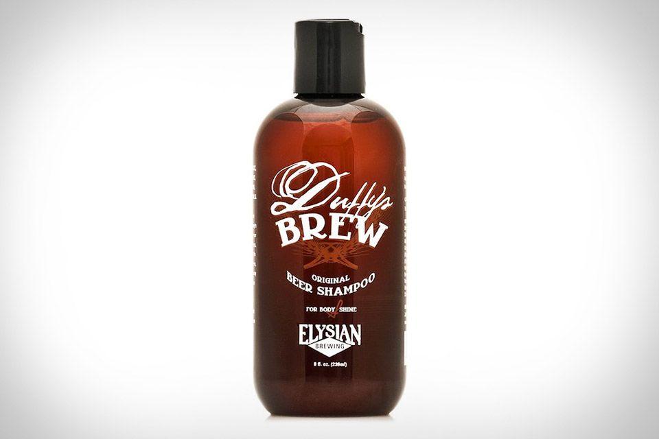 øhmm, jaa. Det er normalt ikke lige det man har lyst til at lugte/dufte af  Duffy's Brew Beer Shampoo