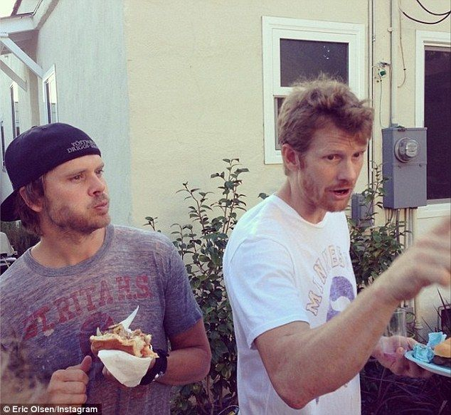 Eric and his brother | NCIS Los Angeles | Pinterest | NCIS ...