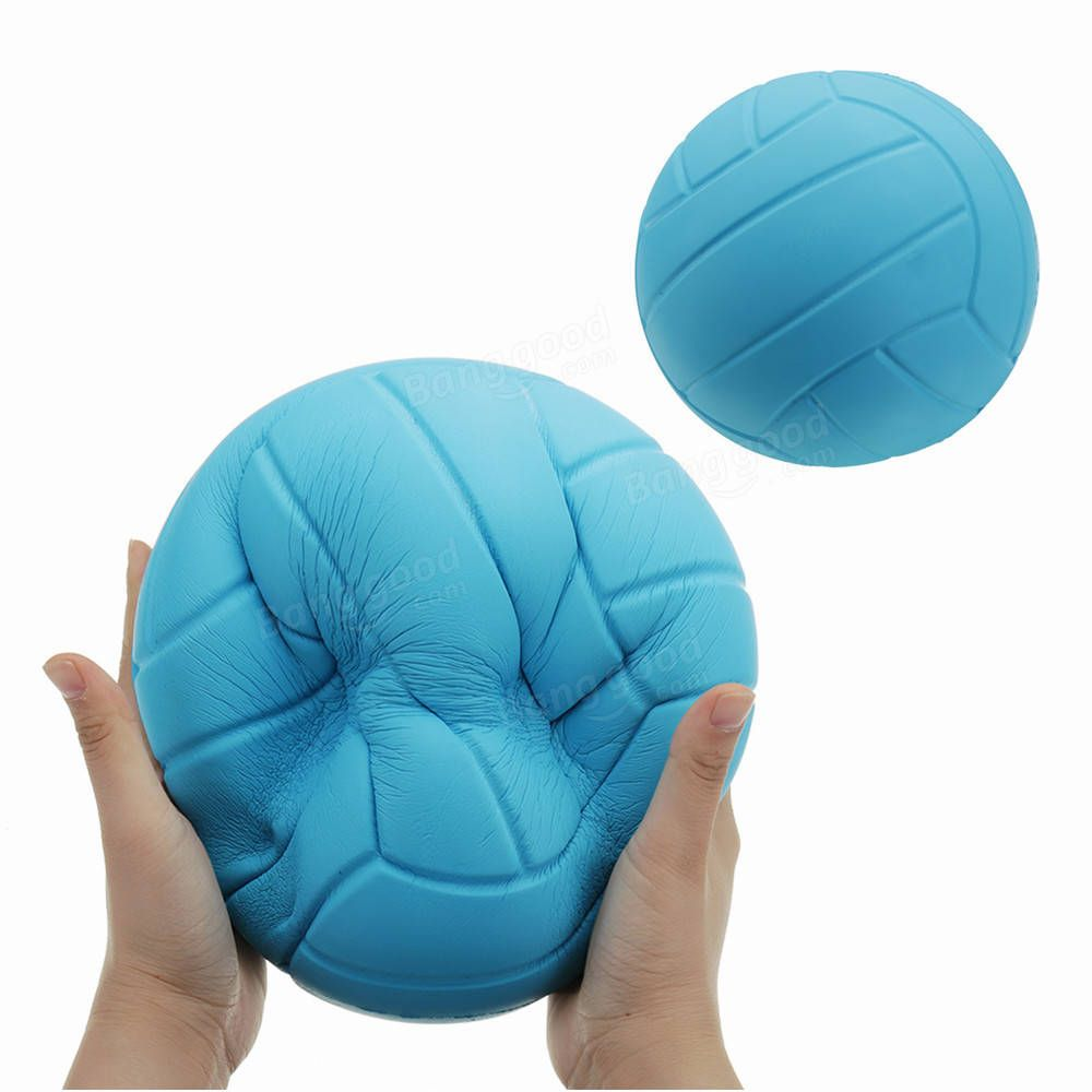Us 20 26 Huge Volleyball Squishy 8in 20cm Giant Slow Rising Toy Cartoon Gift Collection Dolls Stuffed Toys From Toys Hobbies And Robot On Banggood Com Cartoon Gift Volleyball Gift Collections