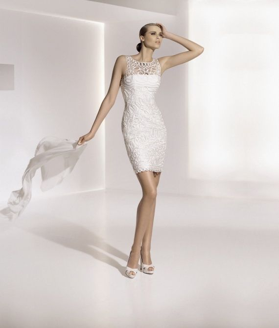 Elegant Wedding Gowns For Second Marriage: Baby Doll Wedding Dresses