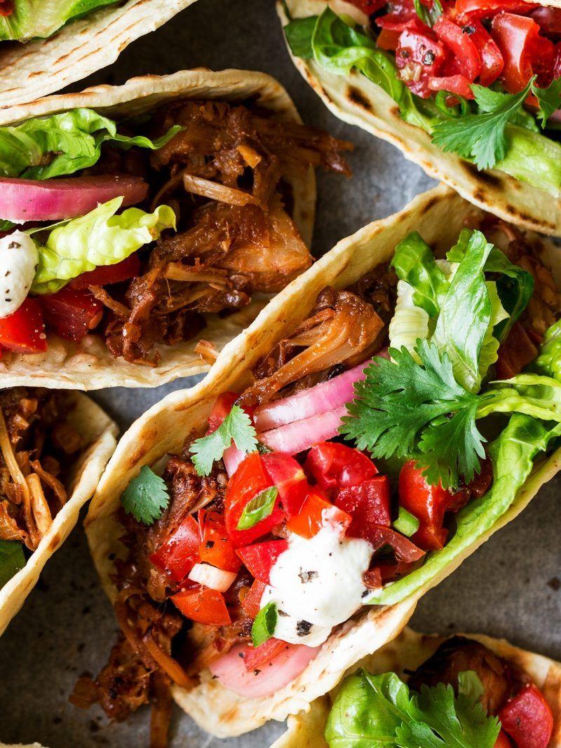 TacoTuesday Jackfruit recipes, Vegan mexican recipes