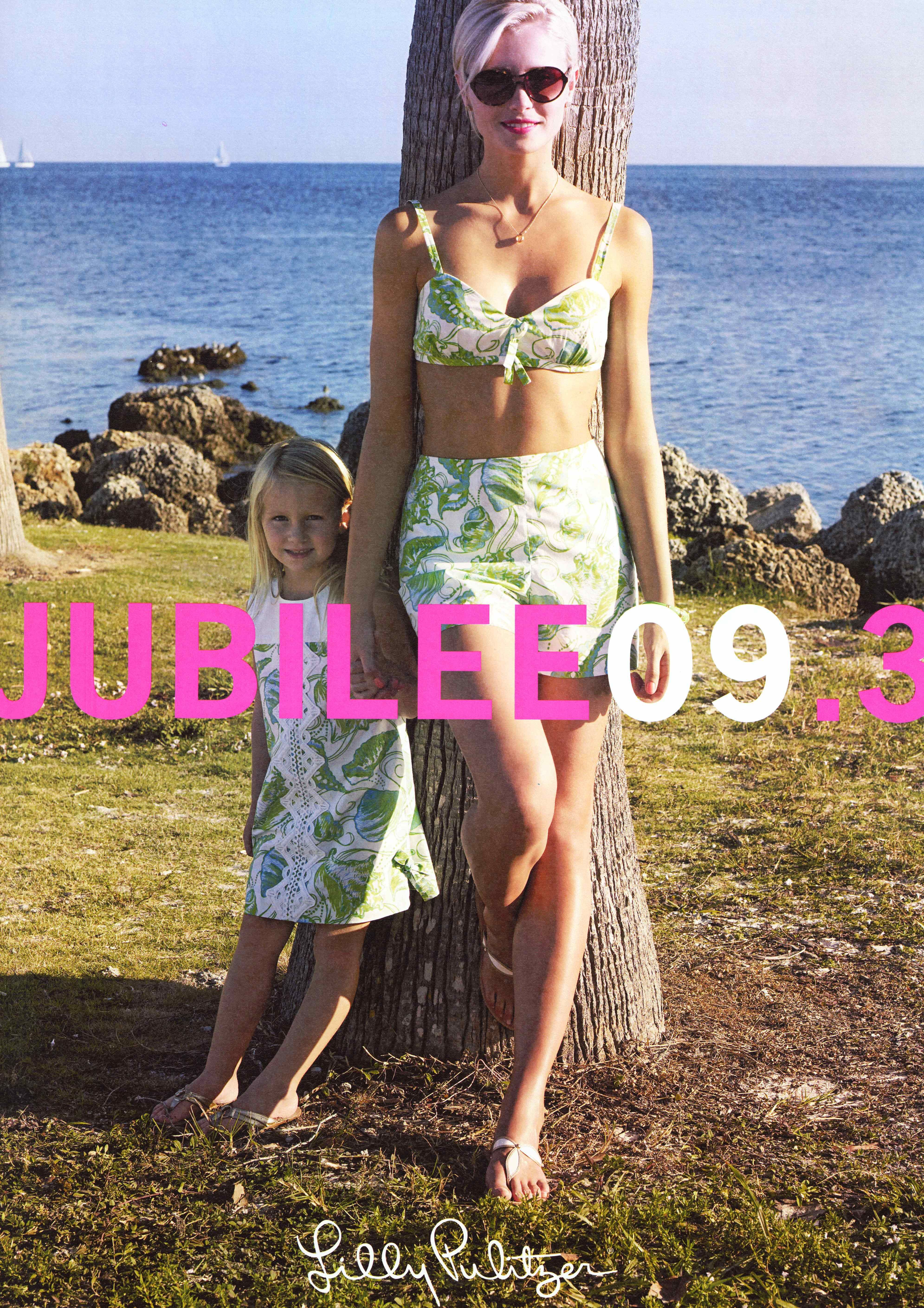 Lilly Pulitzer 2009 Summer Jubilee catalog cover