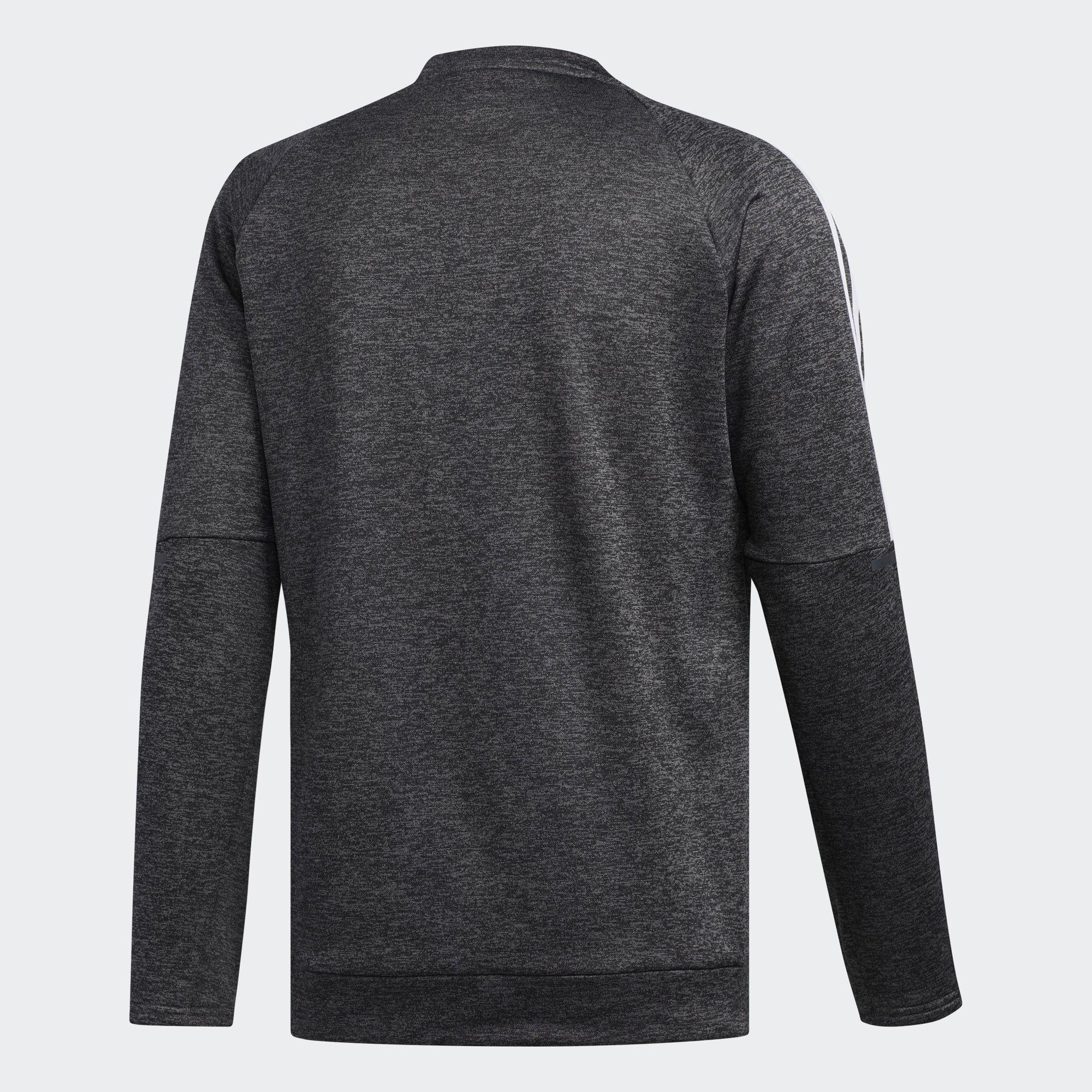 ADIDAS PERFORMANCE Sweatshirt Herren, Graumeliert Weiß