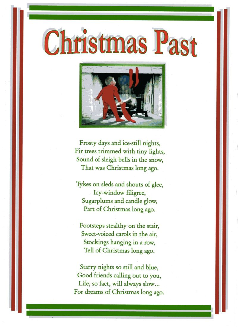 Christmas Poems - Family Friend Poems