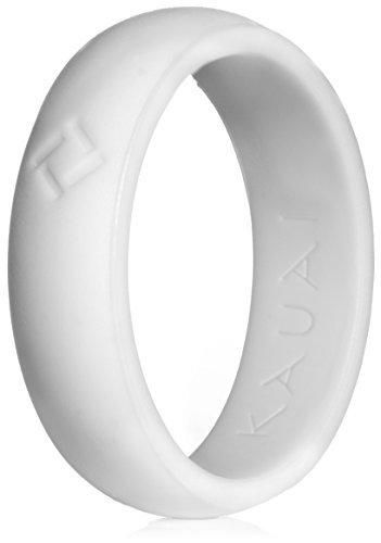 Kauai Silicone Wedding Ring Womens Designed for Comfort Fitness