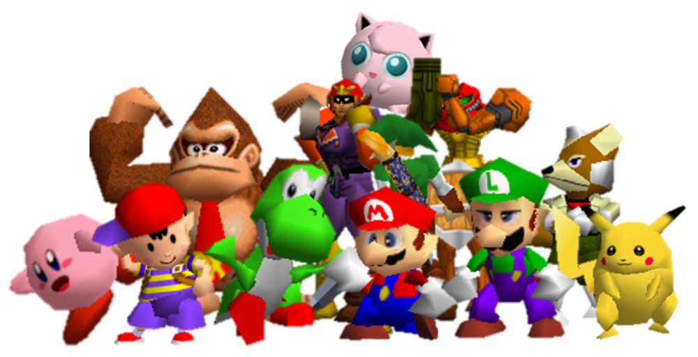 Image result for nintendo 64 characters