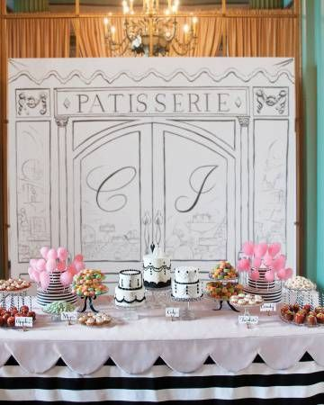 Angolo dei dessert glamour