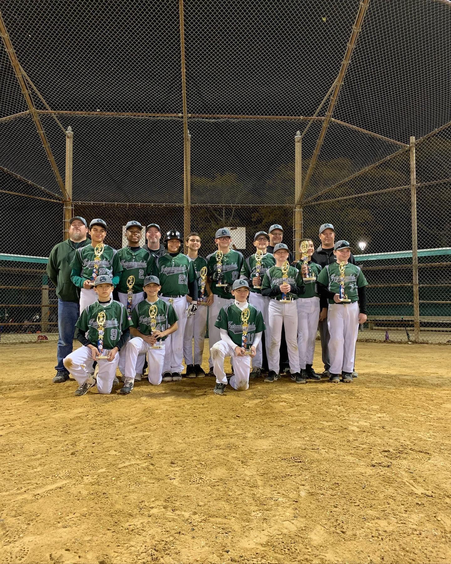 Fall Series 13u National Champions Farmingdale Greendogs In 2020 National Champions Youth Sports Fallen Series