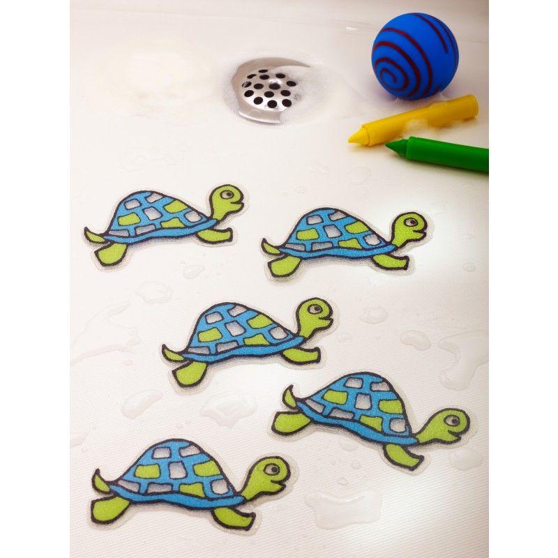 Anti-Skid Shower Applique Bathtub Stickers Safety Fish Decals Tread Non Slip