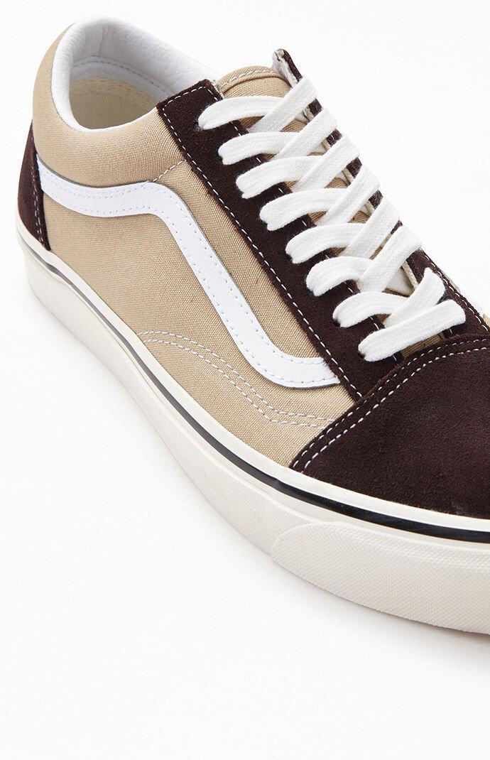 Vans Brown Anaheim Factory Old Skool 36 DX Shoes en 2020
