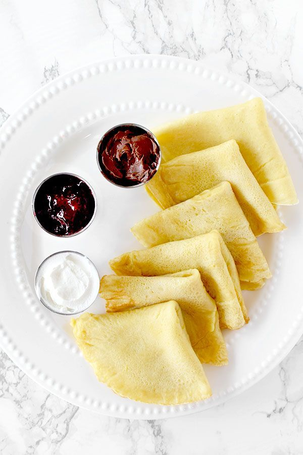 Dairy Free Crepes -
