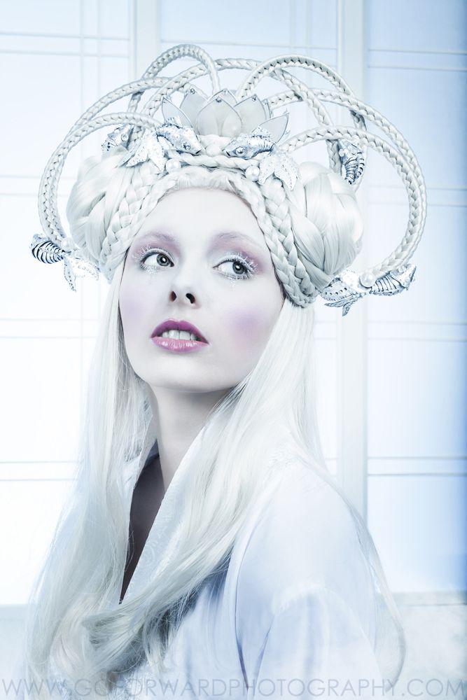 Photographer: Michael D. Ward / Go ForWard Photography | Makeup: Hannah Elvington | Hair: Wendy Ward | Model: Rebecca Shelton | Stylist: Peacock Blue Design Studio | Designers: Peacock Blue Design Studio, Kiki*Kiss