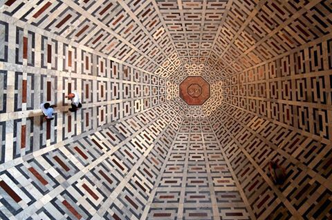 """mydailystumble: """"Floor pattern of the Florance Cathedral """""""