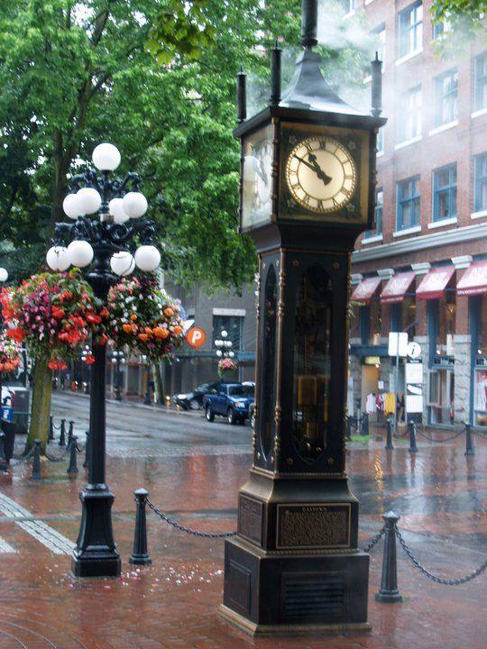 Gastown (Vancouver) steam clock...still works! I've been