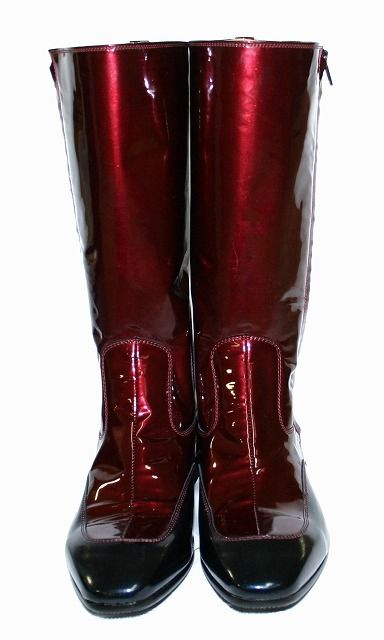 ruby red jockey boots :D