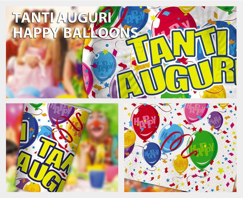 Tanti Auguri Happy Ballons