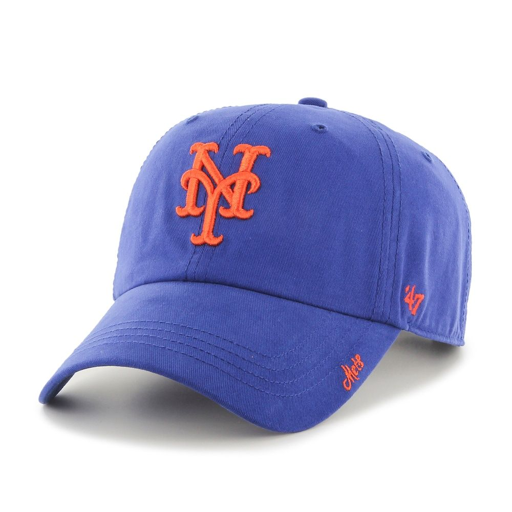 info for 3325f 4676e Adult  47 Brand New York Mets Clean Up Hat, Women s, Blue