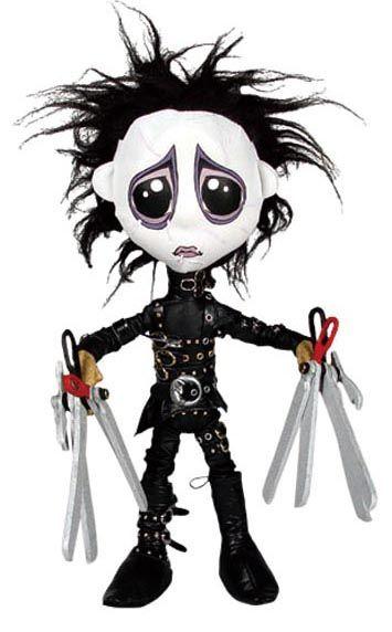 "Edward Scissorhands ""plush"" doll"