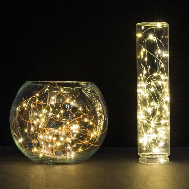 2M 20 Leds Copper Wire Fairy Lights Christmas Lights Indoor String
