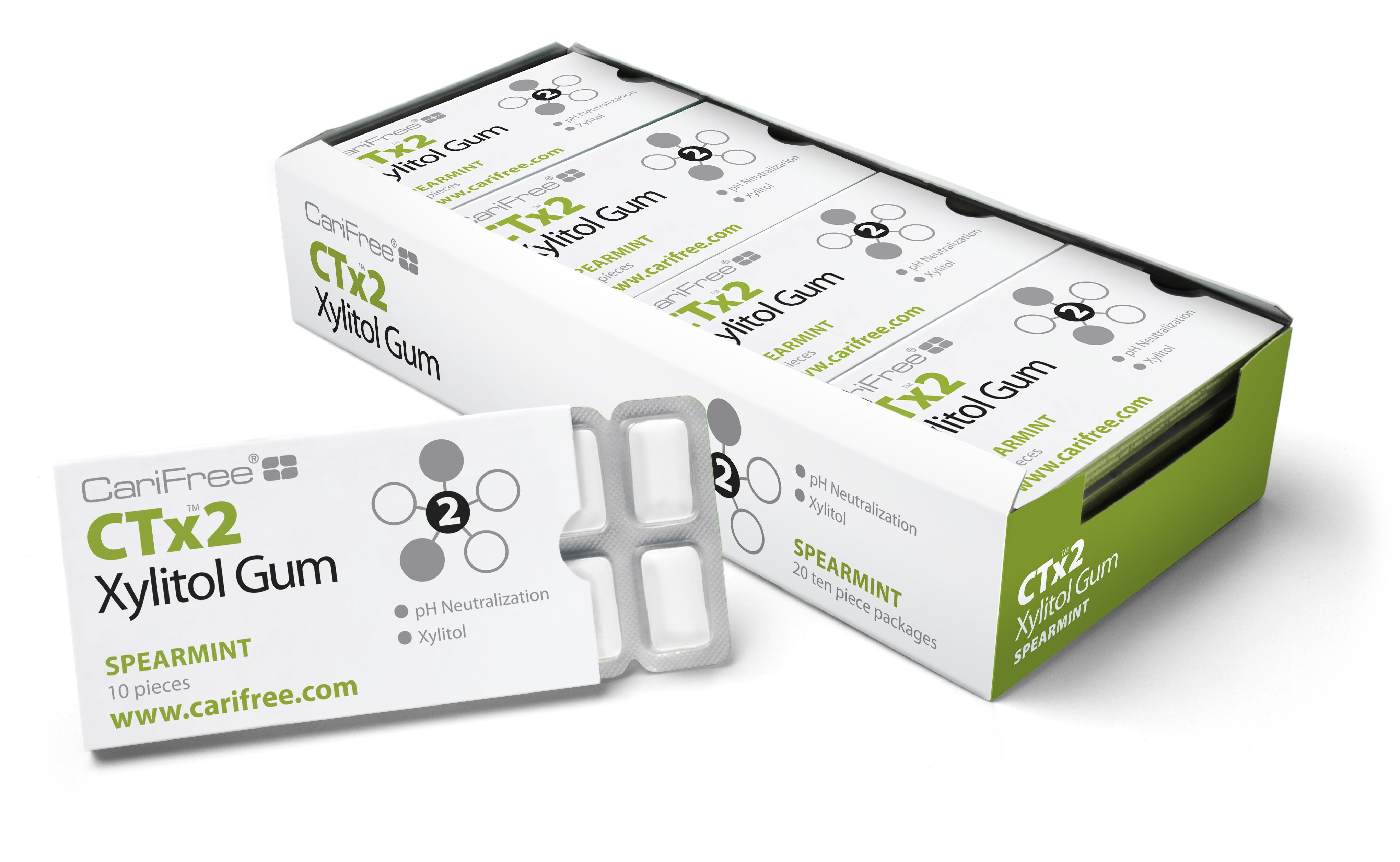 CTx2 Xylitol Gum helps those with Dry Mouth, the