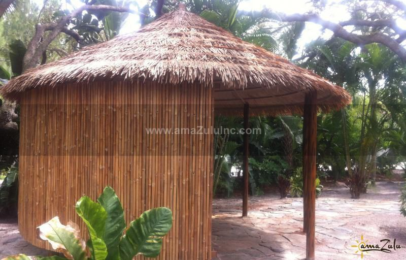 Rolled Bamboo Fence Bamboo Fence Bamboo Dream Pools