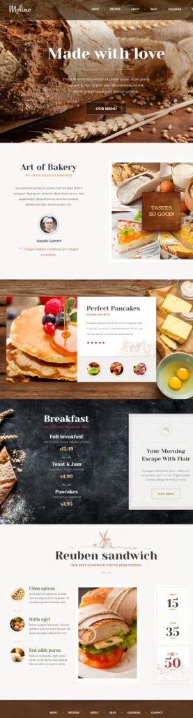 Themefuse molino bakery wordpress theme for food recipes themefuse molino bakery wordpress theme for food recipes websites http forumfinder Images