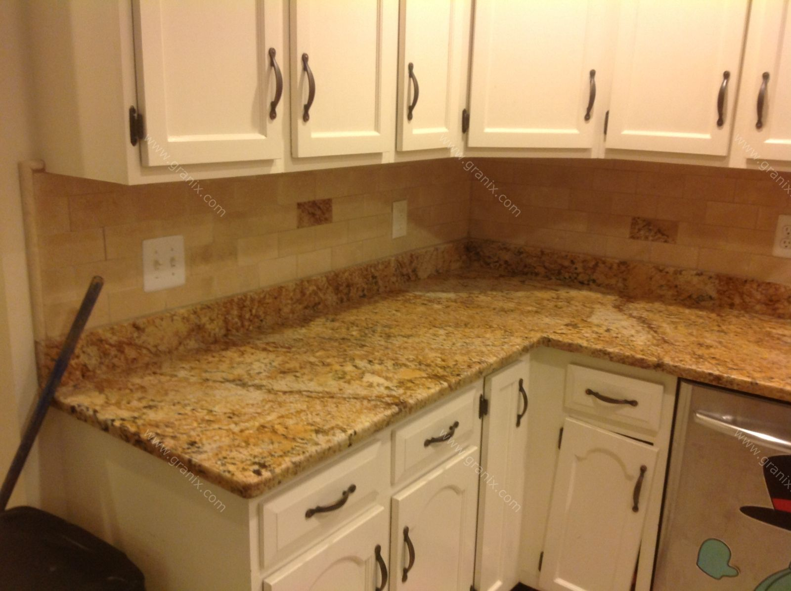 Mac S Before After Solarius Granite Countertop Backsplash