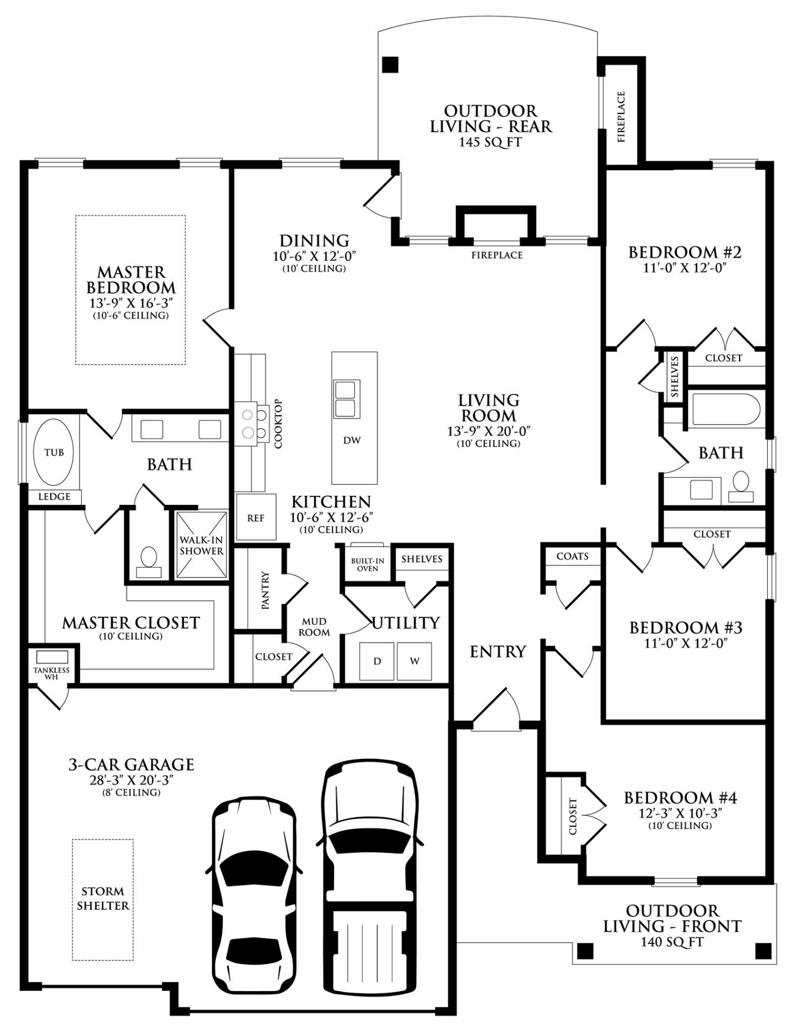 Blue Spruce Floor Plan Homes By Taber Floor Plans New Homes For Sale Entry Closet