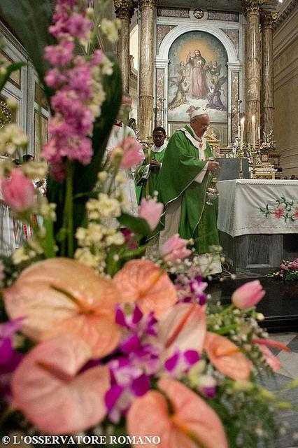 Il Papa visita la parrocchia romana del Sacro Cuore | Flickr - Photo Sharing!