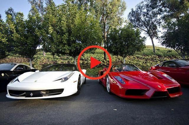 Ferrari 458 Italia and Enzo. Which would you choose...left or right? - #chooseleft #Enzo #Ferrari