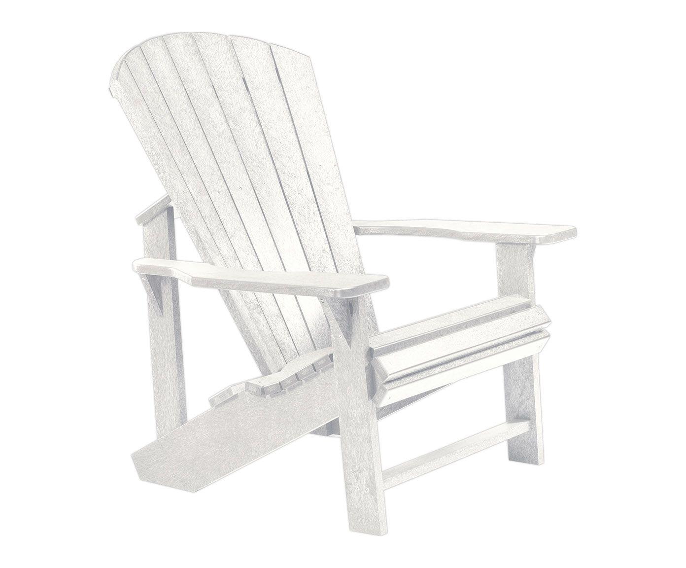 adirondack stuhl addy aus recyceltem kunststoff, b 79 cm   westwing