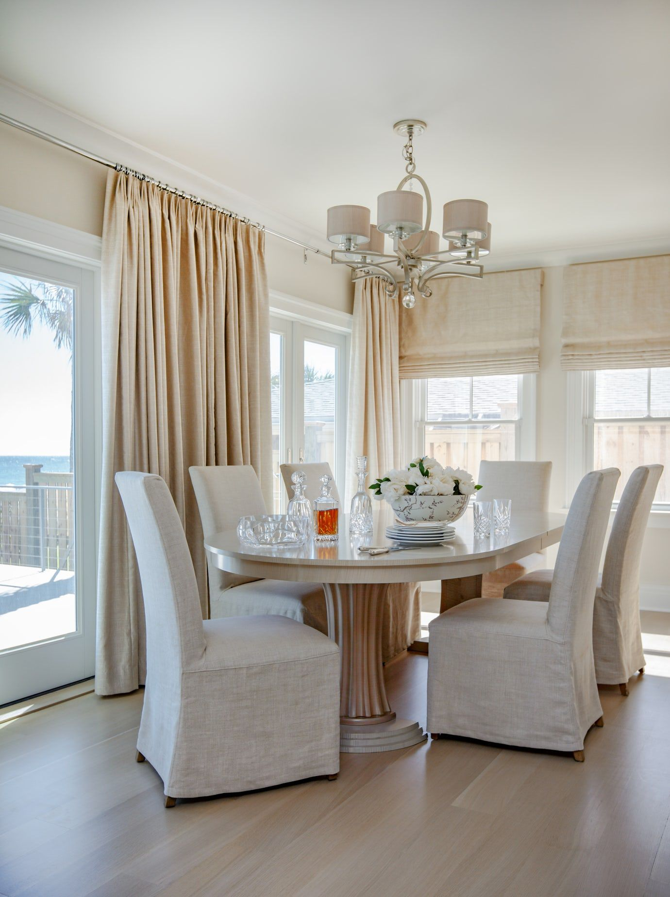 Coastal Transitional Dining Room Dining Contemporary Modern ...