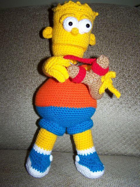Bart Simpson Doll and Slingshot - Free Amigurumi Patterns - PDF ...