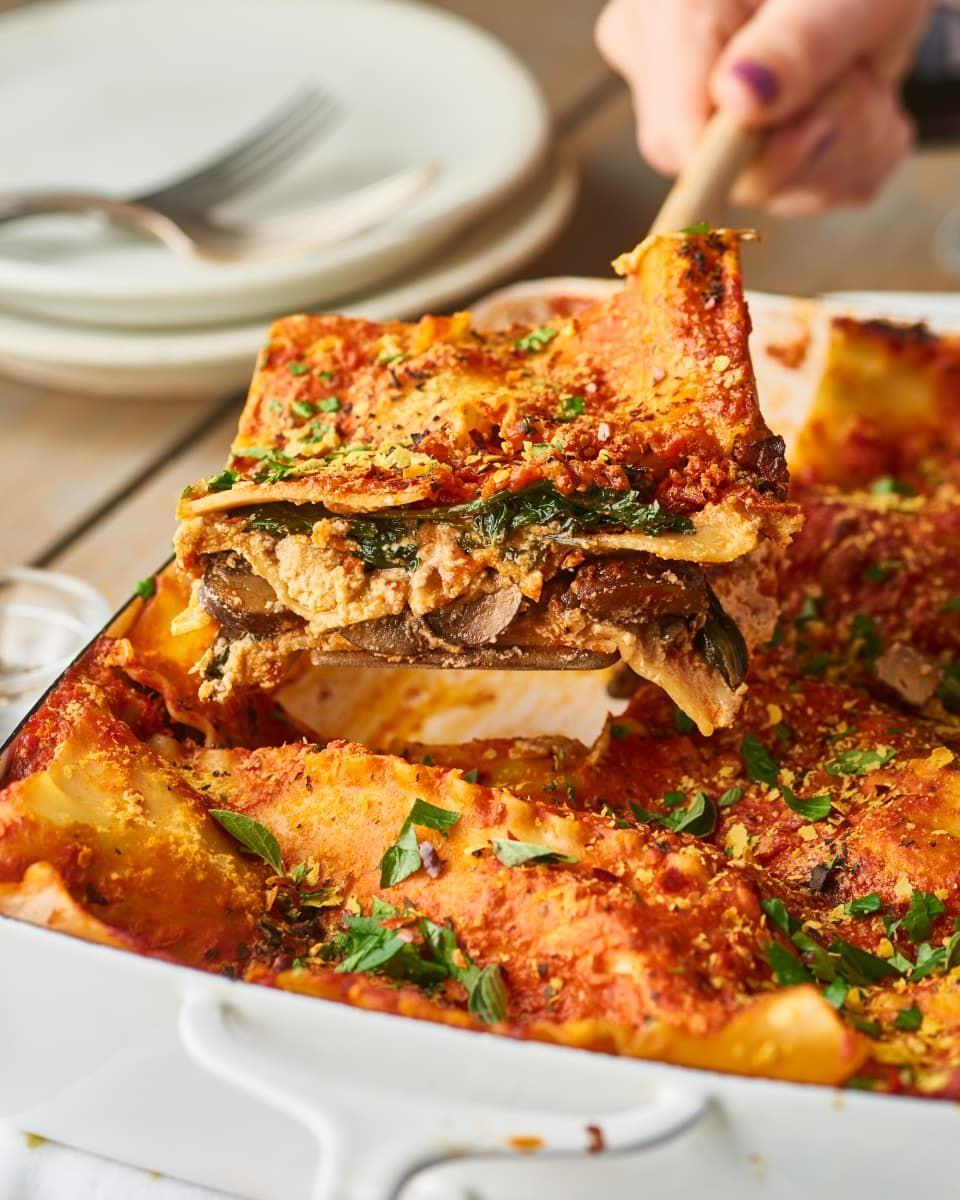 Vegan Lasagna Recipe Vegan Lasagna Healthy Chicken Recipes Saucy Recipes