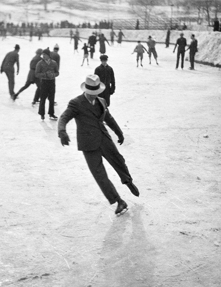 Un hombre de hielo Patinaje (1937)