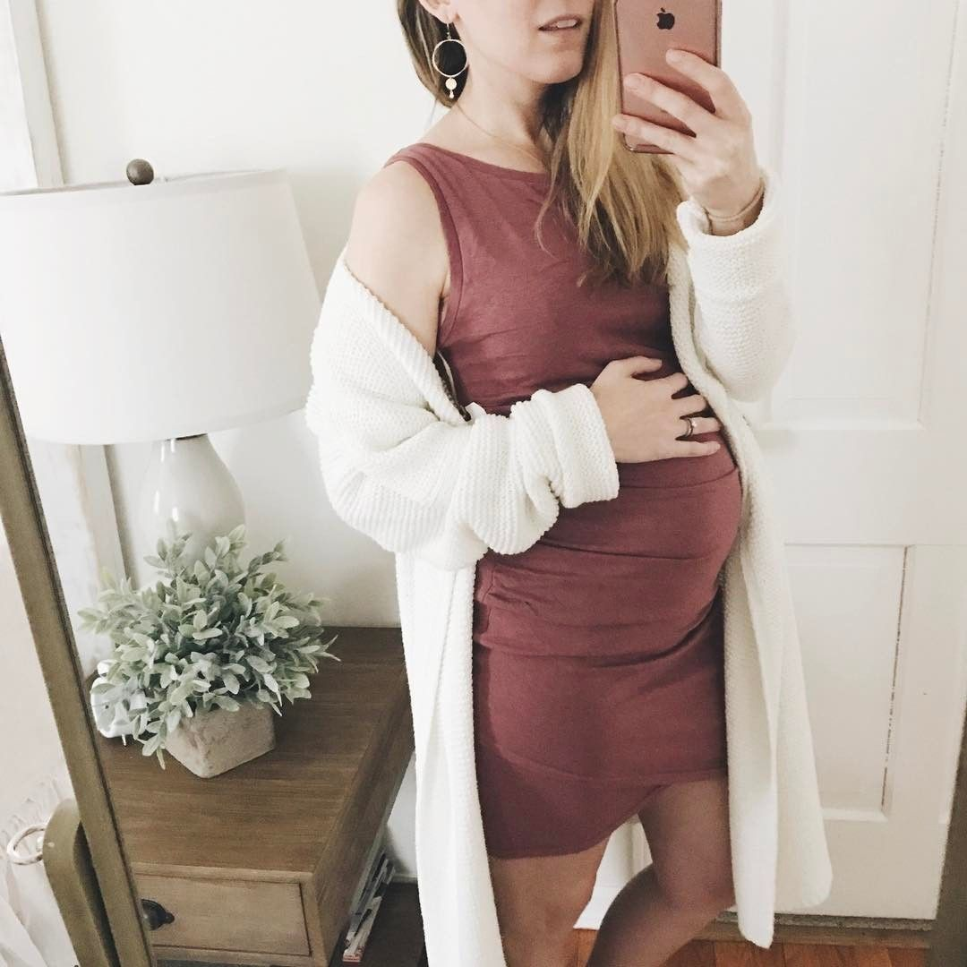 f46359b9c4ecc Proof that you can still be and dress stylish and comfy while pregnant