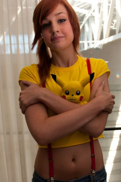Hot misty cosplay Sexy Pokemon