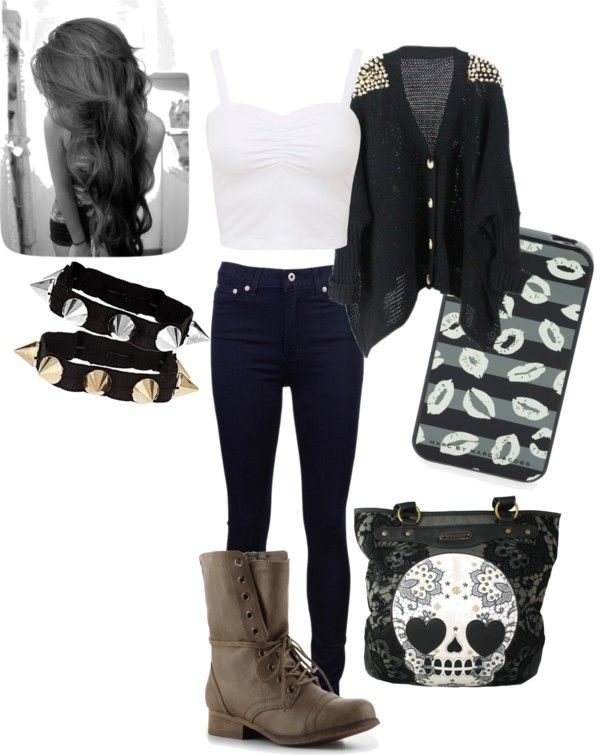 """""""...with you..."""" by andreea-mitrescu ❤ liked on Polyvore"""