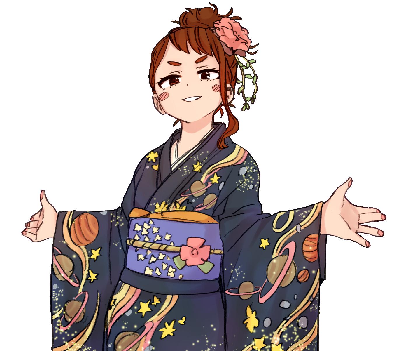 My Hero Academia The Manga Heroe, Personajes femeninos