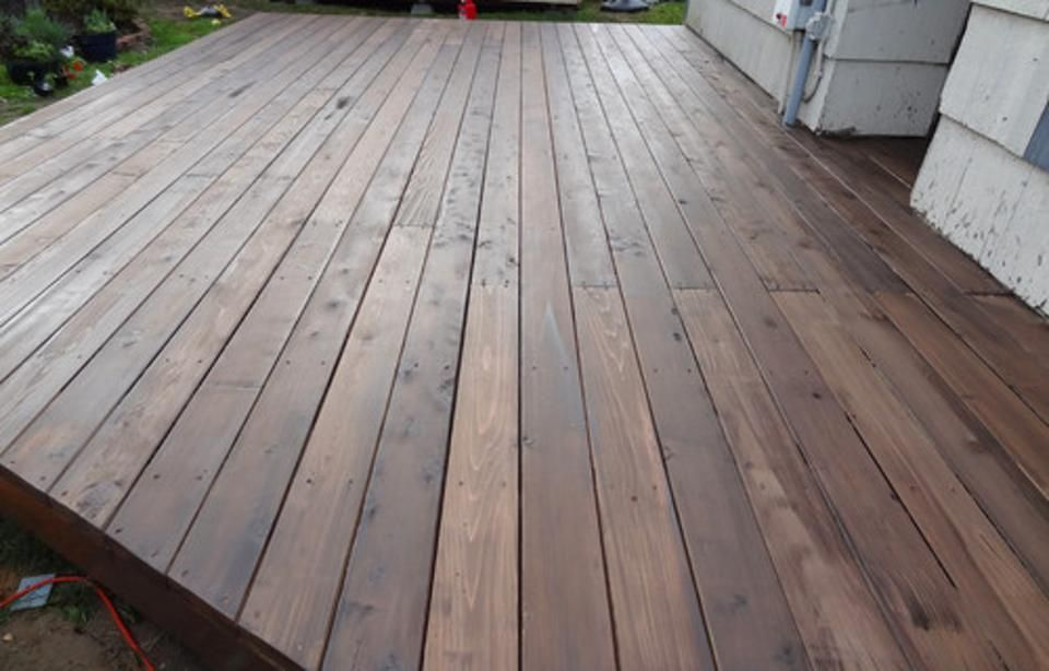 How To Build A Beautiful Platform Deck In A Weekend Platform Deck Diy Deck Building A Deck