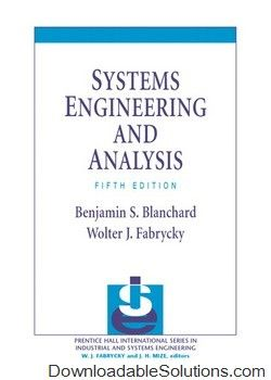 systems engineering and analysis 5th edition benjamin s blanchard rh pinterest com Henry's Law Raoult's Law
