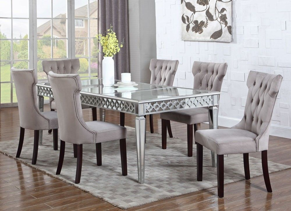 Sophie Mirrored Dining Table Rooms In 2019