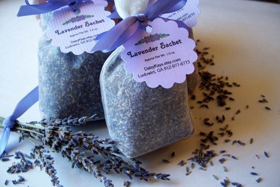 Lavender Sachet Bath Gifts Home Spa Birthday Favors by DaisyKays, $3.50