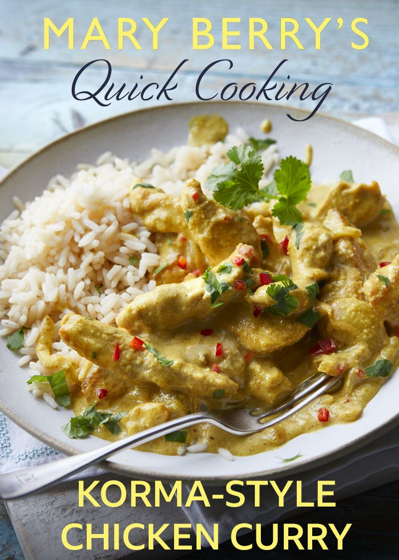 Korma Style Chicken Curry