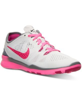 hot sale online d0923 6ece0 Nike Women s Free 5.0 TR Fit 5 Breathe Training Sneakers from Finish Line