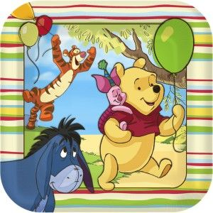Winnie the Pooh Party #partysupplies