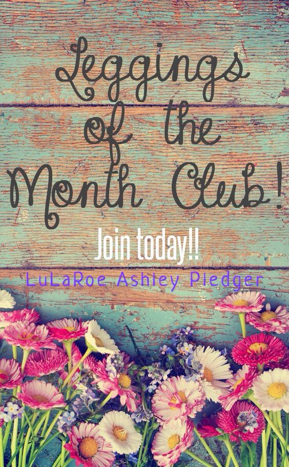 Leggings Of The Month Club Lularoe Ashley Pledger Like My Page