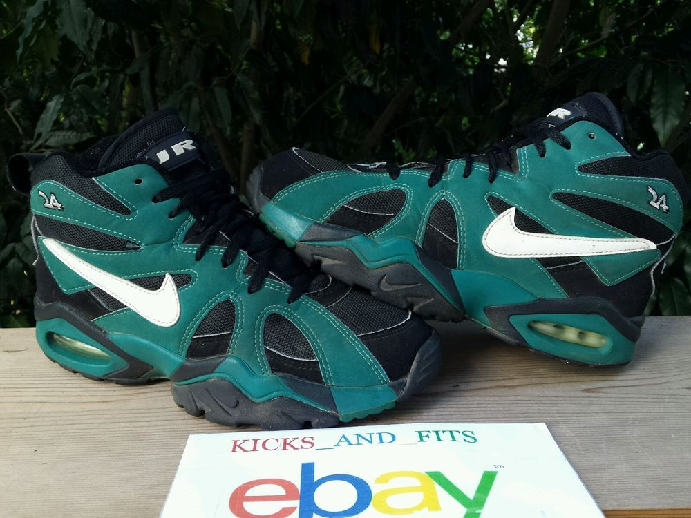 check out d20d0 5809b VTG OG 1995 Nike Air Diamond Fury Ken Griffey Jr Black Fresh Water Teal  Original  Nike  AthleticSneakers