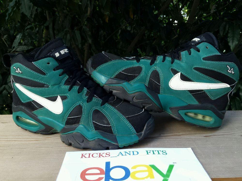 check out b06f3 180f4 VTG OG 1995 Nike Air Diamond Fury Ken Griffey Jr Black Fresh Water Teal  Original  Nike  AthleticSneakers