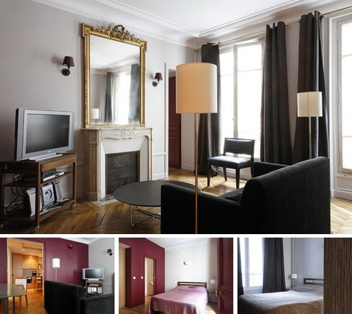 Nice Furnished 2-bedroom Apartment On Rue Pergolese In The